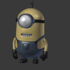 Screenshot_3.png Download free OBJ file Minion • 3D printable object, Overchamy