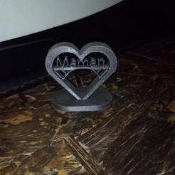 Descargar diseños 3D gratis Día de la Madre Corazón, sachaessner2