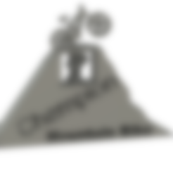 Trophé VTT.stl Download free STL file Mountain Bike Trophy • 3D printing template, sachaessner2