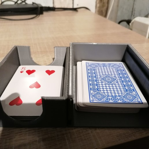 Download free 3D print files Double function card game box, sachaessner2