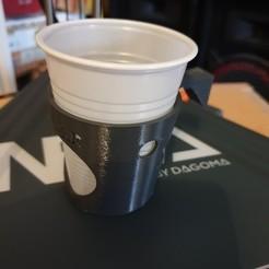 Fichier impression 3D gratuit Support gobelet, Nimdaron