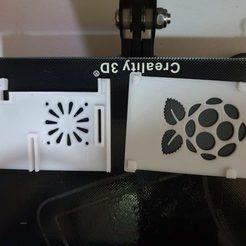 Free 3D printer designs Raspberry pi 3 Snap Fit Case, WauloK