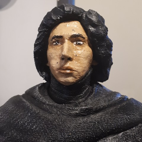 3D printer files KYLO REN, pao_is_here