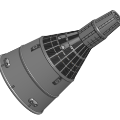 Gemini Spacecraft 1.png Download STL file NASA Spacecraft - Gemini Space Capsule • 3D printer design, joseangelmontesperez