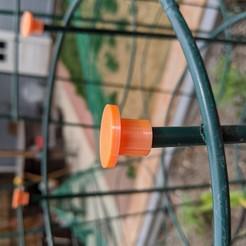 Impresiones 3D gratis Jardinería Tapas de jaulas de tomate, wjonakin