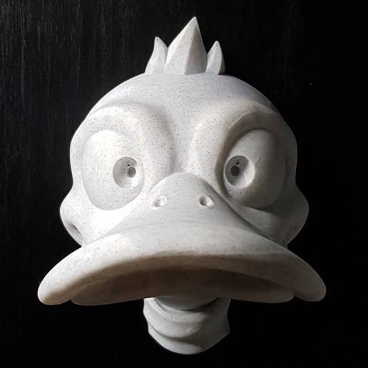 3d Printing Duck Headphone Hanger ・ Cults