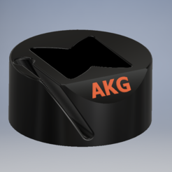 Download free 3D printer model AKG headphone stand (K712 PRO), jordym