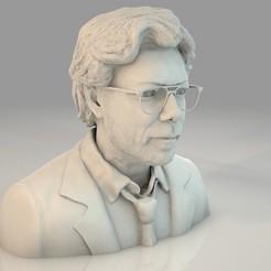 EL PROFESOR_BUST_2.jpg Télécharger fichier STL EL PROFESOR | La Casa De Papel | Le Professeur | Vol d'argent • Modèle pour imprimante 3D, 3DPrintingGarage