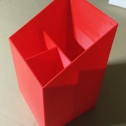 IMG_20190127_203732.jpg Download free STL file Desk Organiser (3 Versions) • Template to 3D print, bleblet