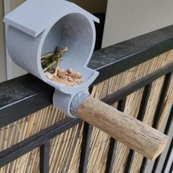 IMG_20200505_182212__01 (1).jpg Télécharger fichier STL gratuit Mangeoire à oiseaux / bird feeder  • Modèle à imprimer en 3D, Cocodums