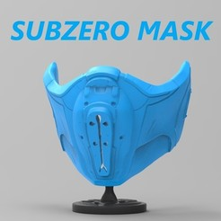 13 (4).jpg Download STL file SUBZERO MASK (Covid 19) • 3D printable object, freeclimbingbo
