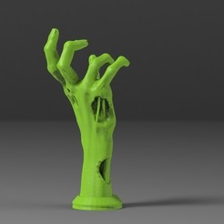 untitled.412.jpg Download STL file Zombie hand for hadphones • 3D printing model, freeclimbingbo