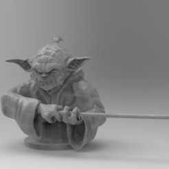 Без имени.jpg Download STL file EVIL JODA • 3D printing model, freeclimbingbo