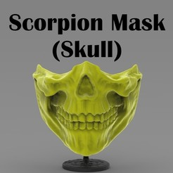 41211.jpg Download STL file Scorpion Mask (covid19) • 3D print design, freeclimbingbo