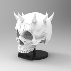 Download 3D printer designs darth maul SKULL, freeclimbingbo