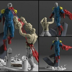 21.jpg Download STL file Homelander Miniature - STL - • 3D printer design, freeclimbingbo