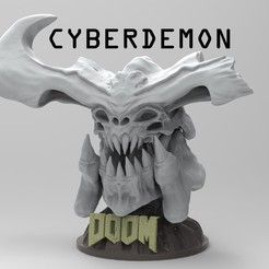 214421NJM.jpg Download STL file CYBERDEMON DOOM • Object to 3D print, freeclimbingbo