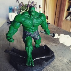 Download STL Hulk - 3d STL file, freeclimbingbo
