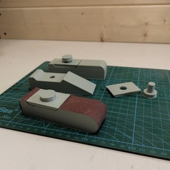 IMG_20200920_152506.jpg Download STL file Sand Paper Handles • 3D printer model, freeclimbingbo
