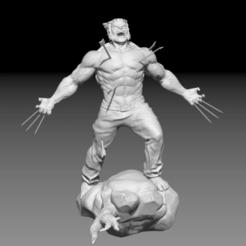 Télécharger fichier impression 3D Statue de carcajou, freeclimbingbo
