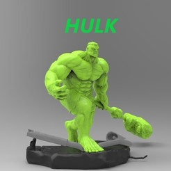 24124.jpg Download STL file Hulk - 3d STL file • 3D printing design, freeclimbingbo