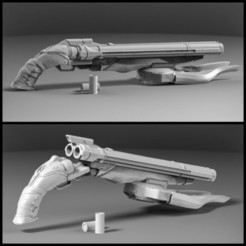 IMG_20200915_173108_703.jpg Download STL file DOOM shotgun for cosplay • 3D print design, freeclimbingbo