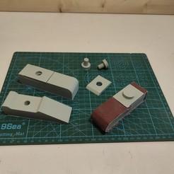 Télécharger fichier STL Poignées en papier sablé • Modèle à imprimer en 3D, freeclimbingbo