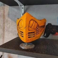 Télécharger fichier STL Masque de scorpion (covid19) • Modèle imprimable en 3D, freeclimbingbo