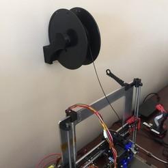 3D print model 3D filament holder, SkylerWicks