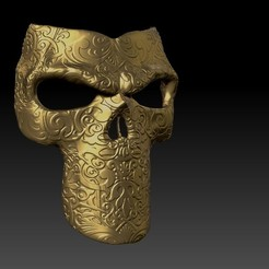 Descargar archivo 3D MASK SKULL , grubenmira