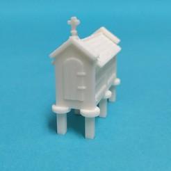 Sin título-1.jpg Télécharger fichier STL Échelle de Hórreo galicien H0 1:87 • Design imprimable en 3D, grubenmira