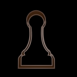 Download free 3D printing designs Chess Cookie Cutter Pawn - Pawn Chess cookie cutter, mike21mzeb