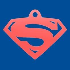 Descargar archivo 3D gratis Llavero de Superman - Superman Keychain, mike21mzeb