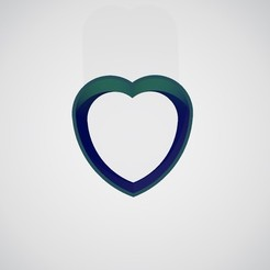 Download free 3D printing designs Heart mold - Heart mold, mike21mzeb