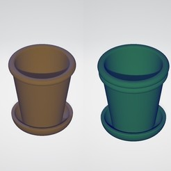 Download free 3D printer templates Macetero - Flower Pot, mike21mzeb