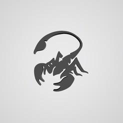 Download free 3D printing models Scorpion logo, mike21mzeb