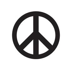 Descargar Modelos 3D para imprimir gratis Paz y amor - Paz y amor - Llavero - Llavero - Aretes - Pendientes, mike21mzeb