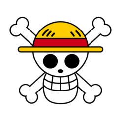 Download STL file One Piece - Jolly roger mugiwaras - Straw hat, mike21mzeb