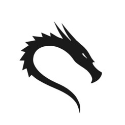 Download free 3D print files Logo Kali Linux, mike21mzeb