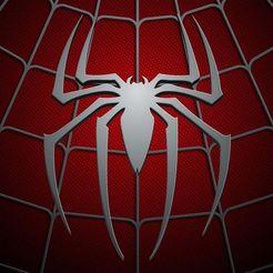 Impresiones 3D gratis Logo Spiderman - Hombre araña, mike21mzeb