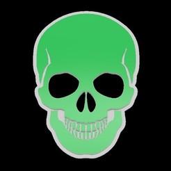 Download free 3D printer designs Calavera - Skull - AGRO SI, MINA NO, mike21mzeb