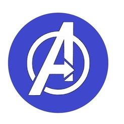 Descargar modelos 3D gratis Logotipo de los Vengadores - Símbolo de los Vengadores, mike21mzeb