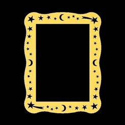 Download free STL file Marco de Estrellas - Stars Frame - 02 Models • Template to 3D print, mike21mzeb