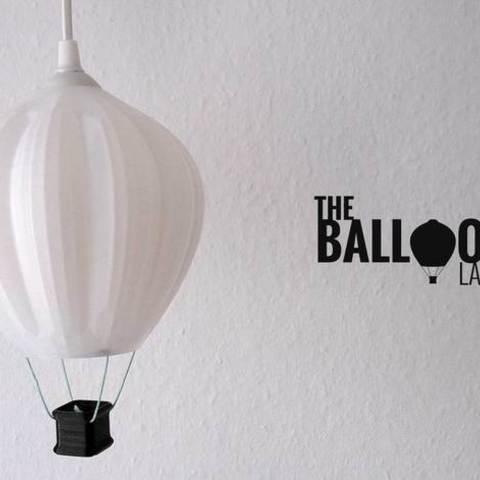 Free STL Balloon Lamp, Shruikan-Arts