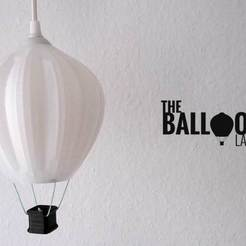 Free STL Balloon Lamp, Shruikan-Arts