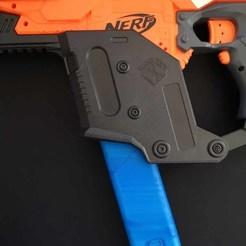 00.jpg Download STL file NERF Stryfe Vector style mag • 3D printer model, Shruikan-Arts