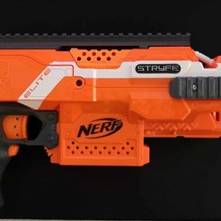 07.jpg Download STL file NERF Stryfe Picatinny Rail Set • Object to 3D print, Shruikan-Arts