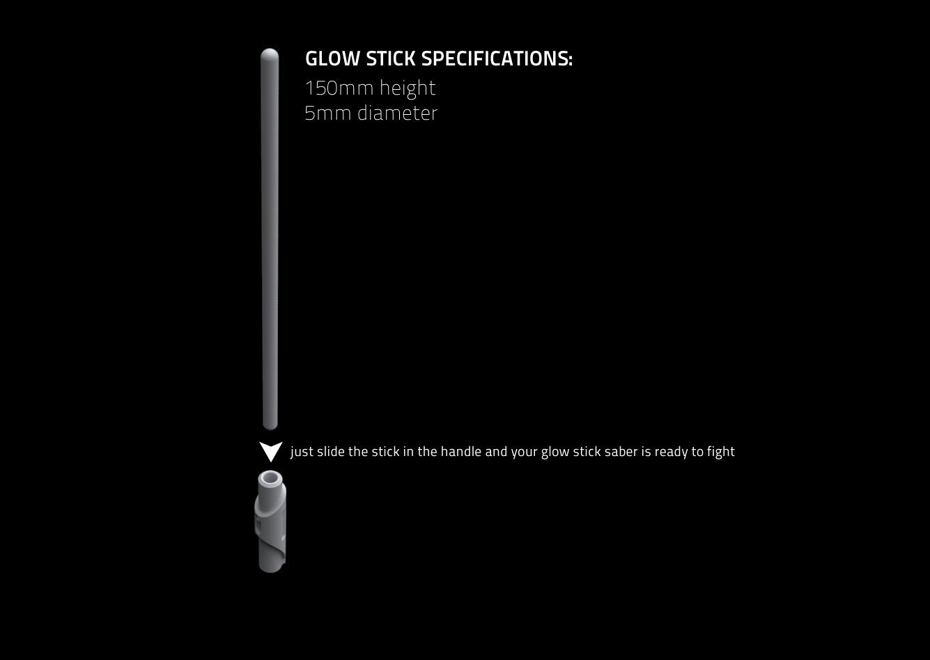 thingiverse_2.jpg Download free STL file Glow Stick Saber • 3D printer object, Shruikan-Arts