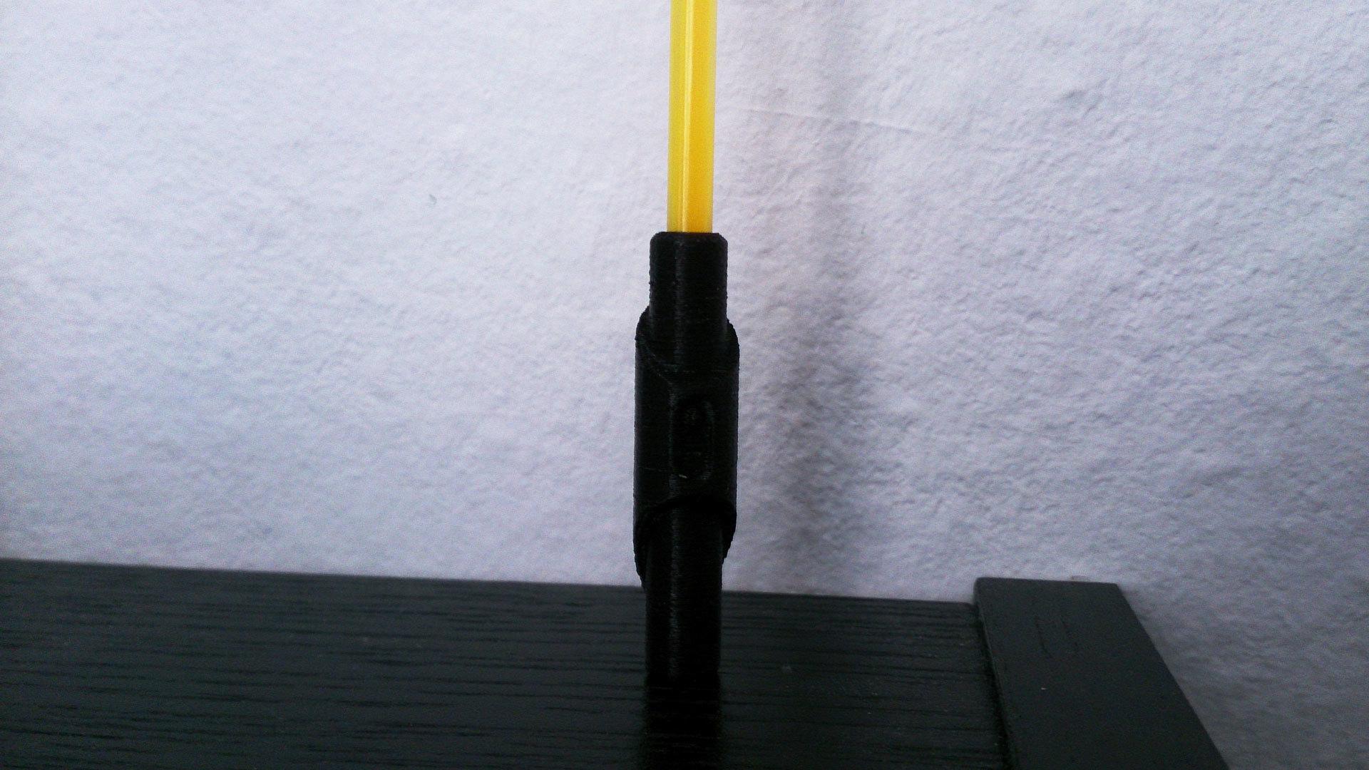 2.jpg Download free STL file Glow Stick Saber • 3D printer object, Shruikan-Arts