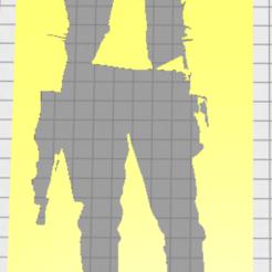 Télécharger STL Stencil Han Solo, Vincent-3D